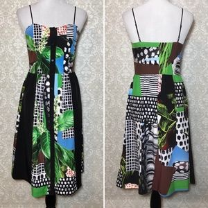 Clover Canyon Multi Graphic Print Dress